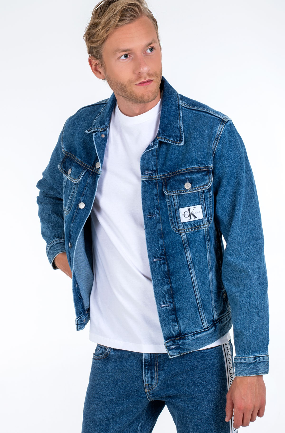 Džinsinis švarkas 90S DENIM JACKET-full-2