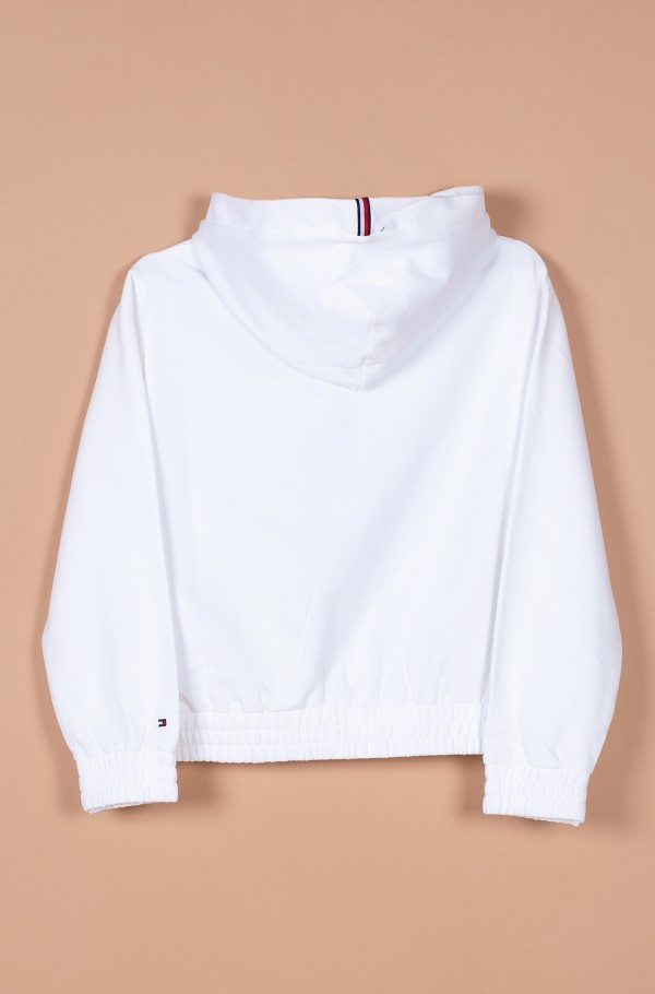 ESSENTIAL HOODED SWEATSHIRT-hover