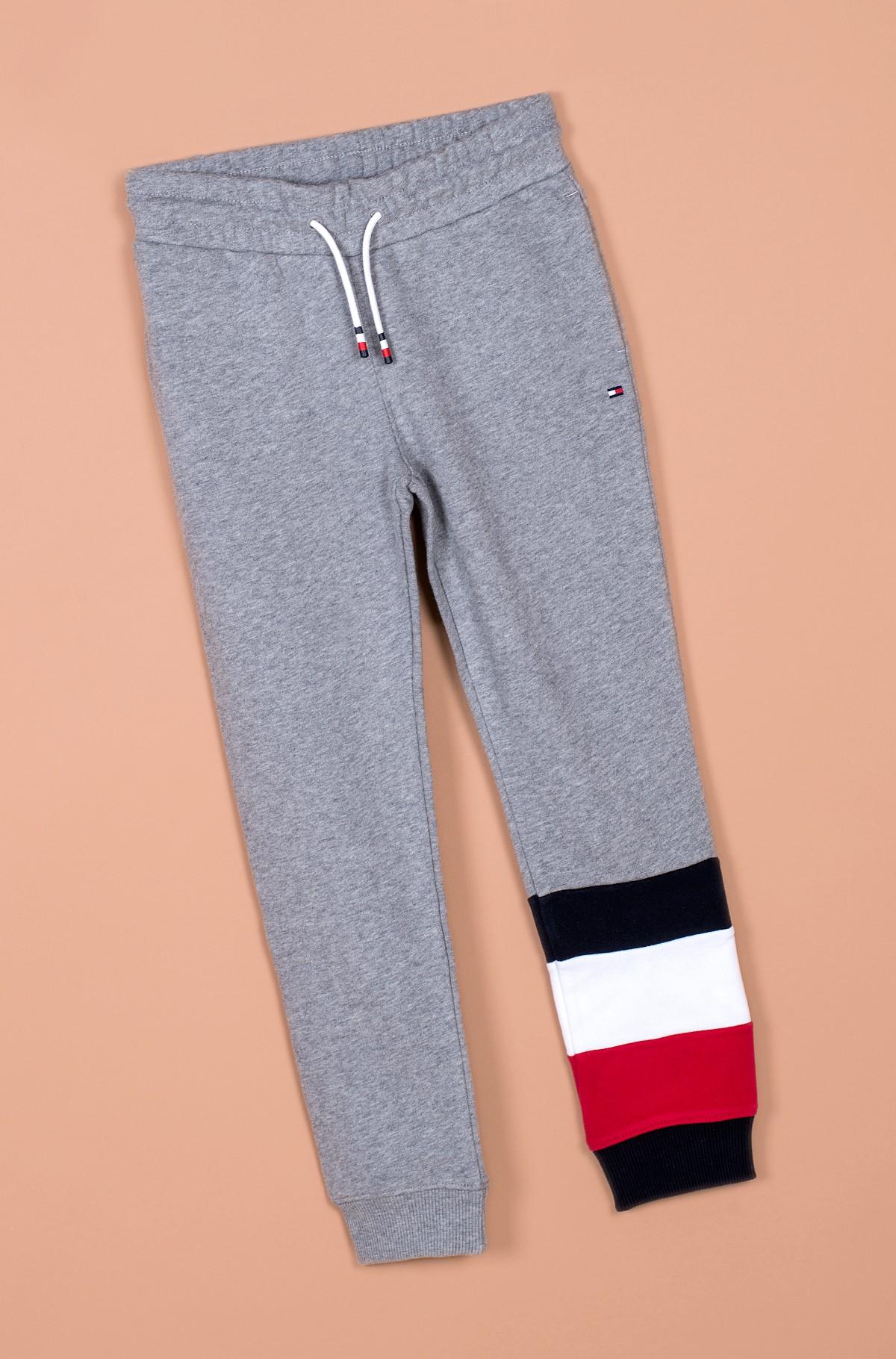 Vaikiškos sportinės kelnės GLOBAL STRIPE COLORBLOCK PANTS-full-1