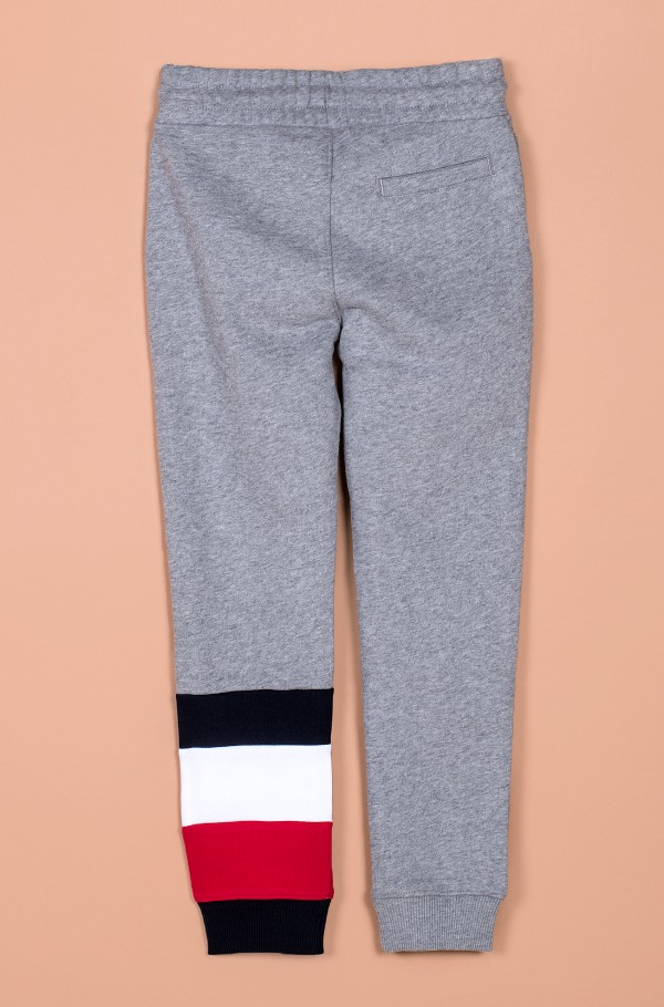 GLOBAL STRIPE COLORBLOCK PANTS-hover