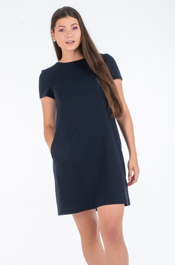 STELLA TEXTURED SHIFT DRESS SS