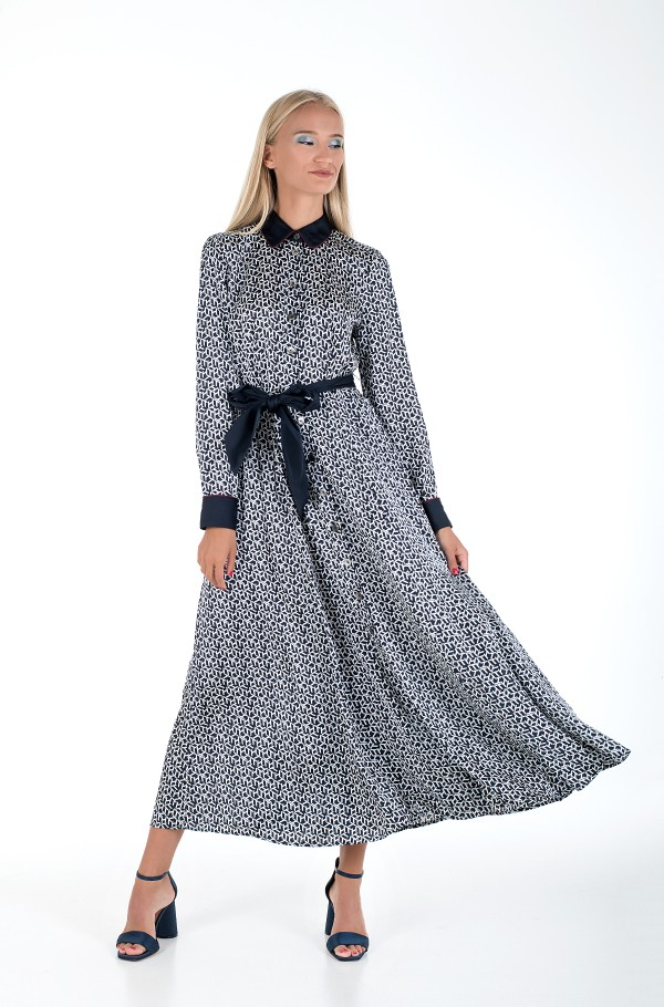 ICON TILDA MAXI SHIRT DRESS LS