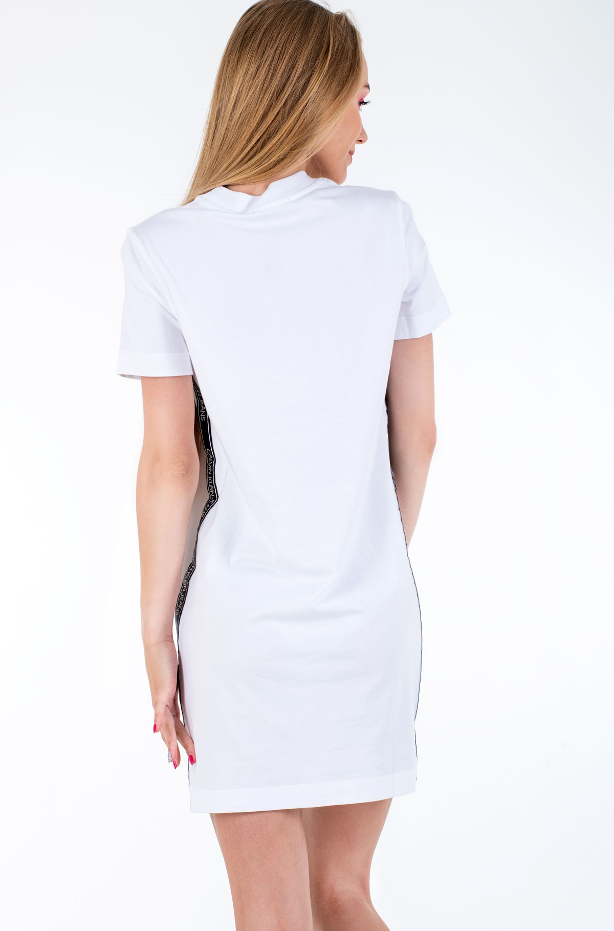 Kleit SIDE TAPE T-SHIRT DRESS-full-2