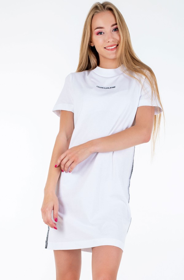 SIDE TAPE T-SHIRT DRESS