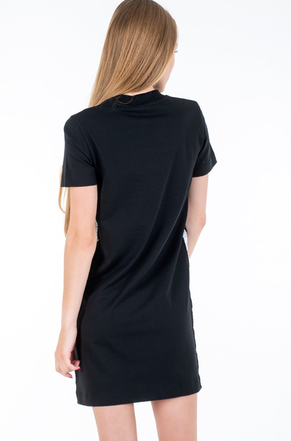 SIDE TAPE T-SHIRT DRESS-hover