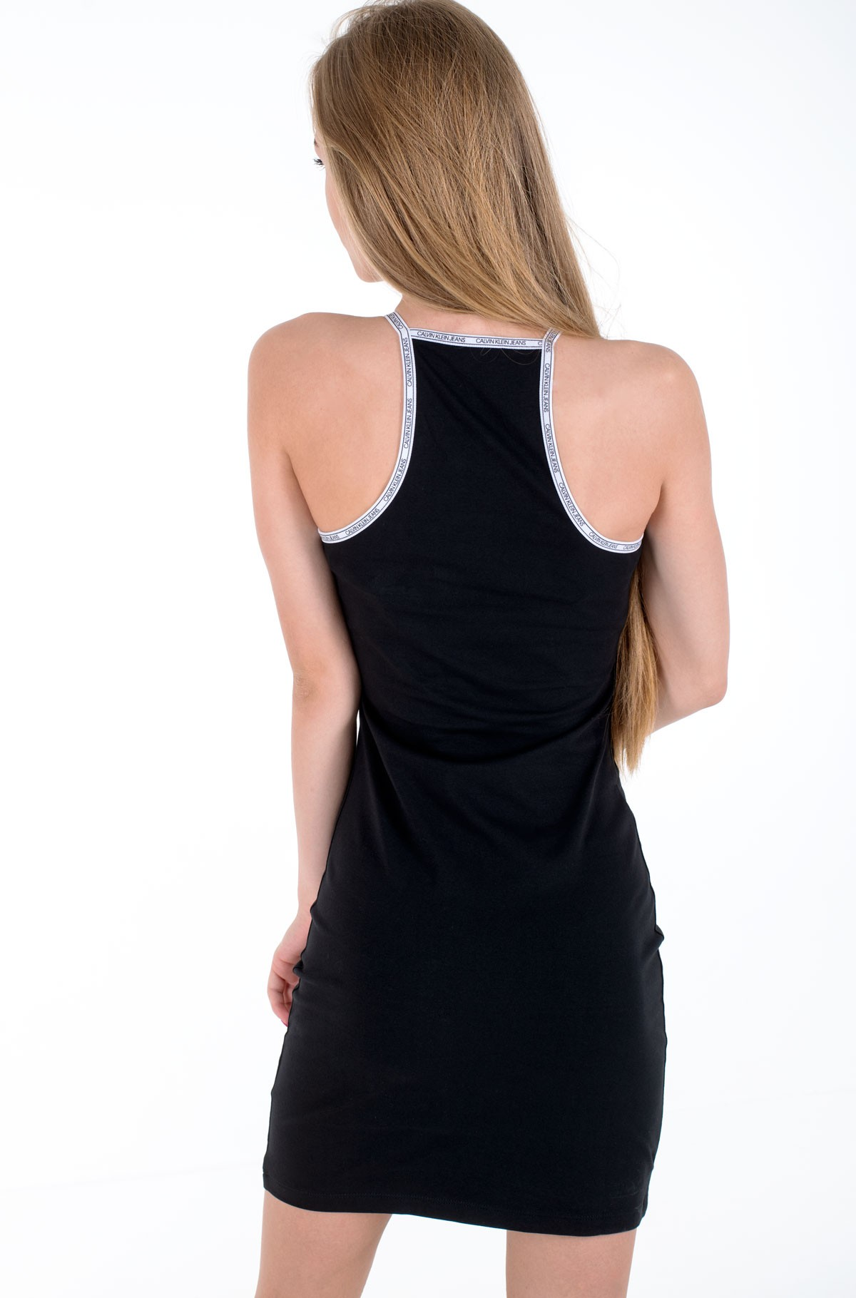 Dress LOGO TRIM TANK DRESS-full-2