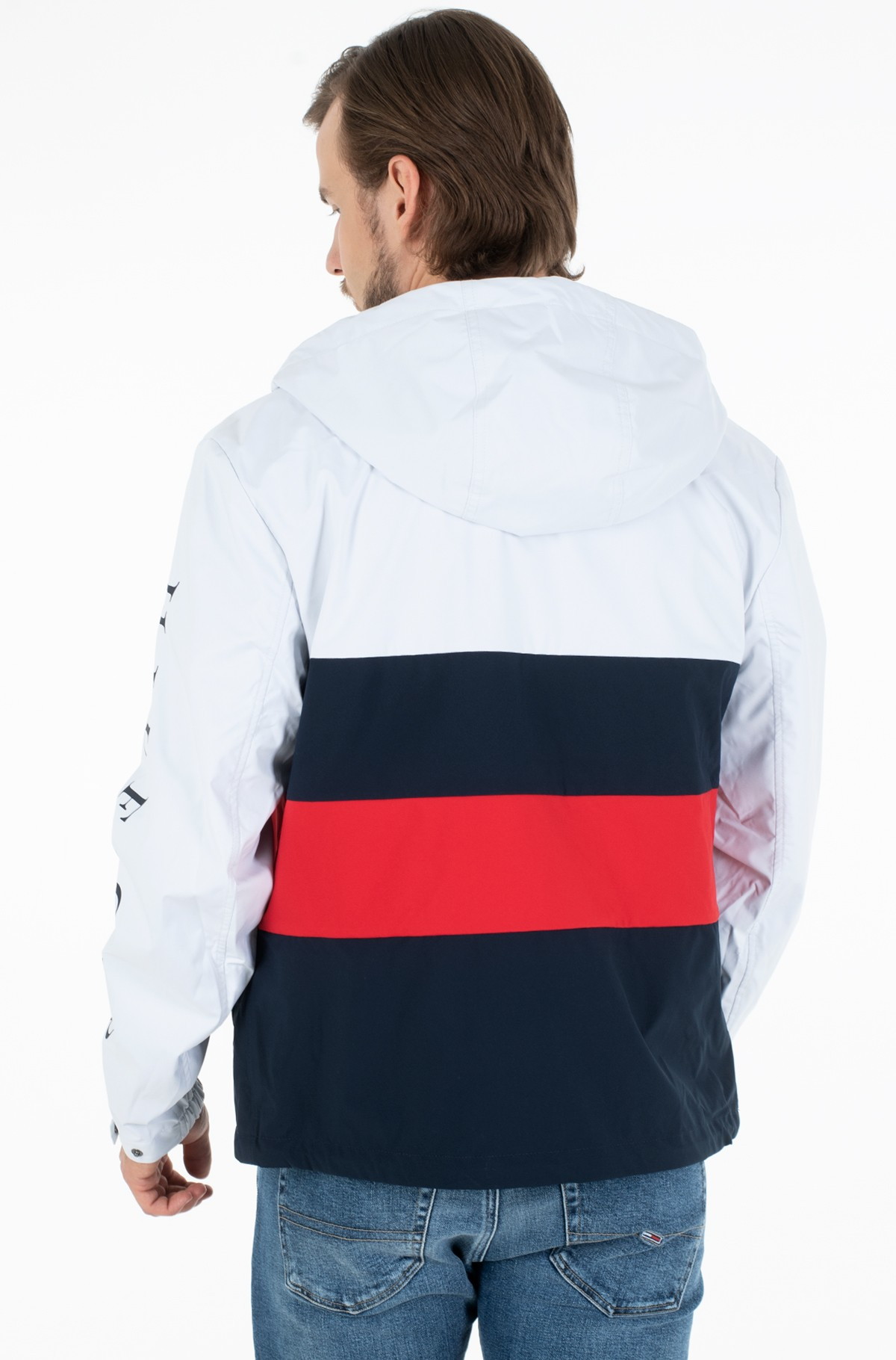 Jacket COLOURBLOCK HOODED JACKET-full-3