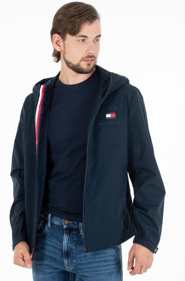 HOODED JACKET-hover