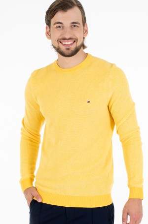 Sweater MOULINE STRUCTURE CREW NECK-1