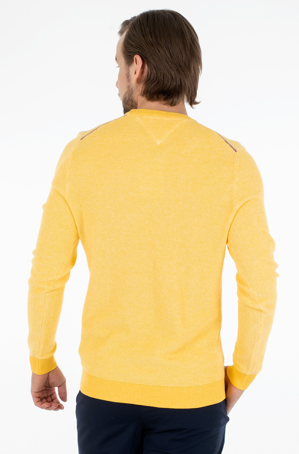 Sweater MOULINE STRUCTURE CREW NECK-full-2