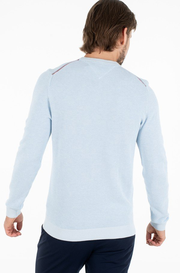 MOULINE STRUCTURE CREW NECK-hover