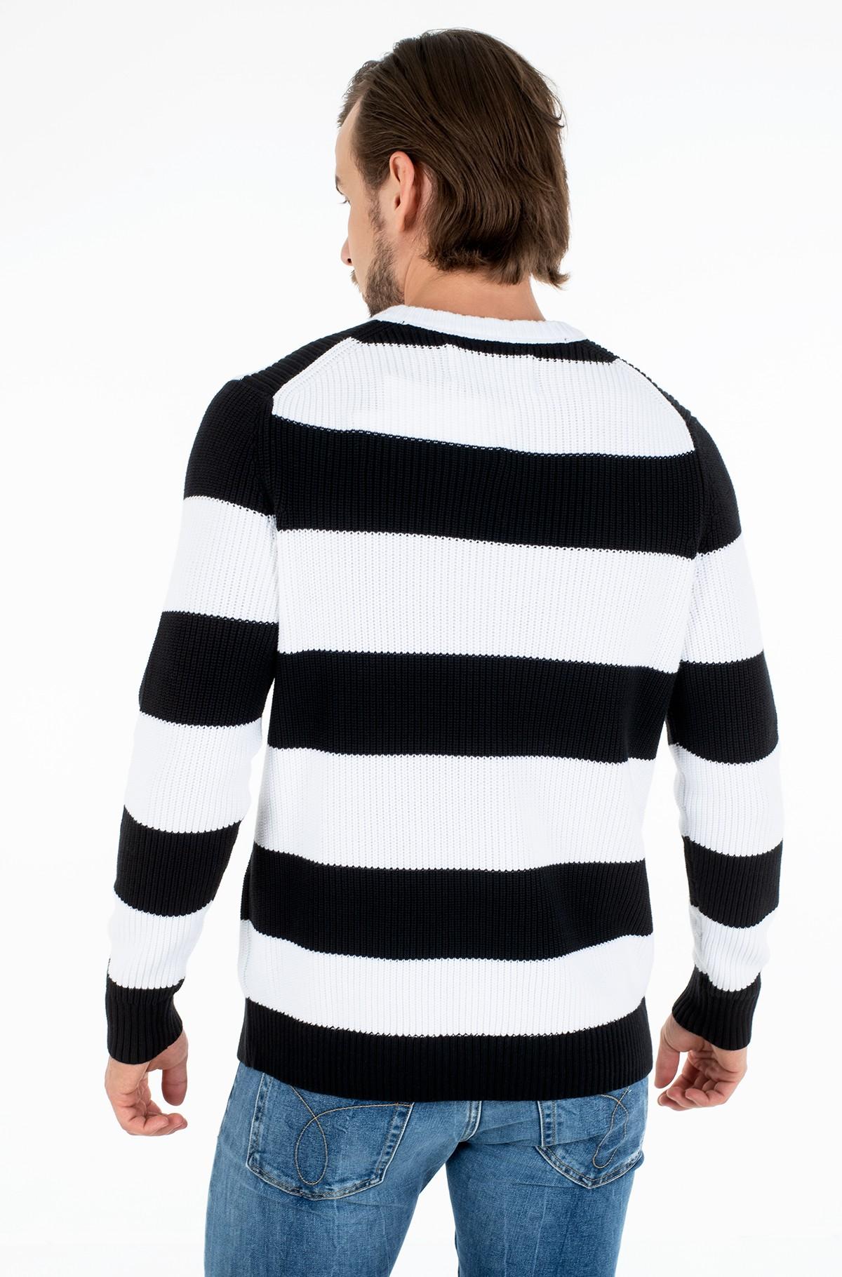 Sweater STRIPED MONOGRAM SWEATER-full-3