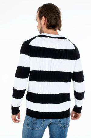 Sweater STRIPED MONOGRAM SWEATER-3
