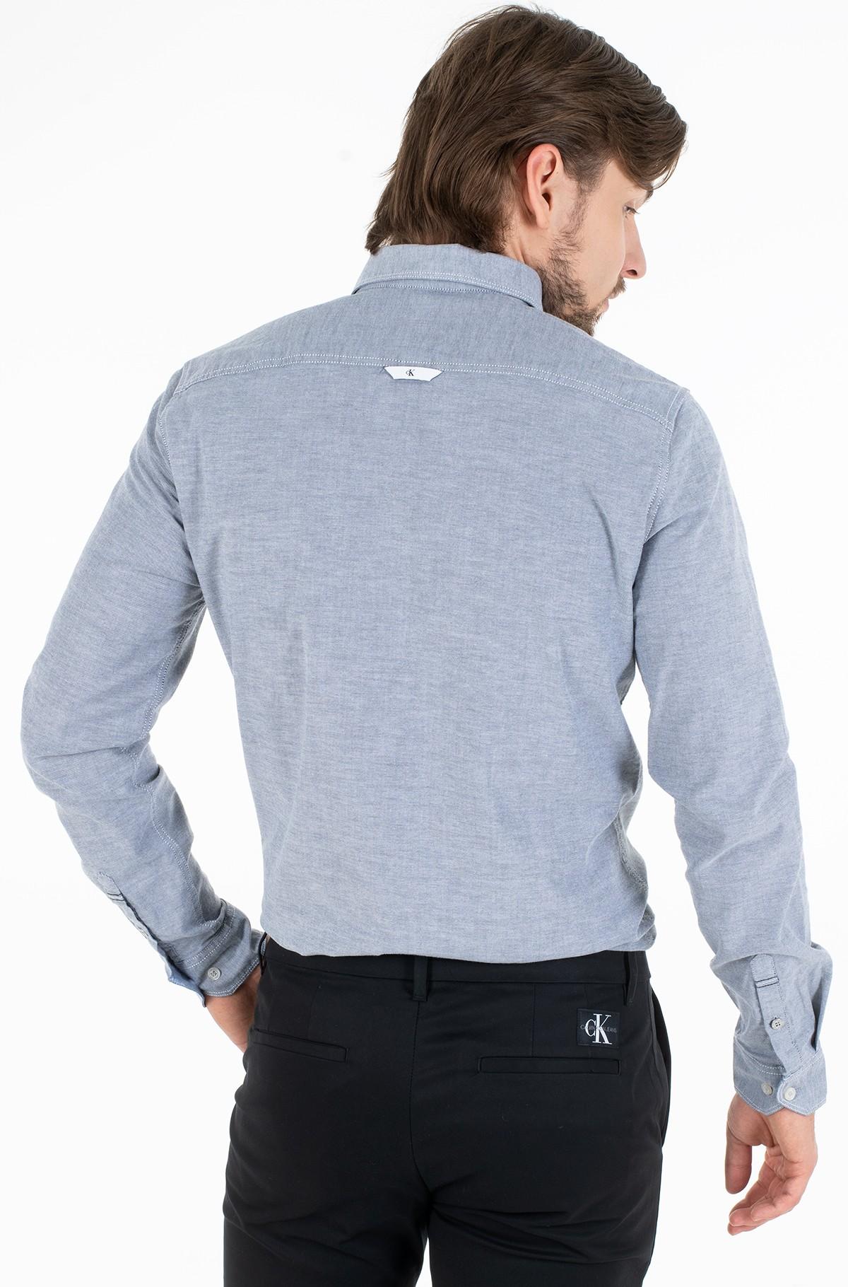 Marškiniai CHAMBRAY SLIM STRETCH-full-2