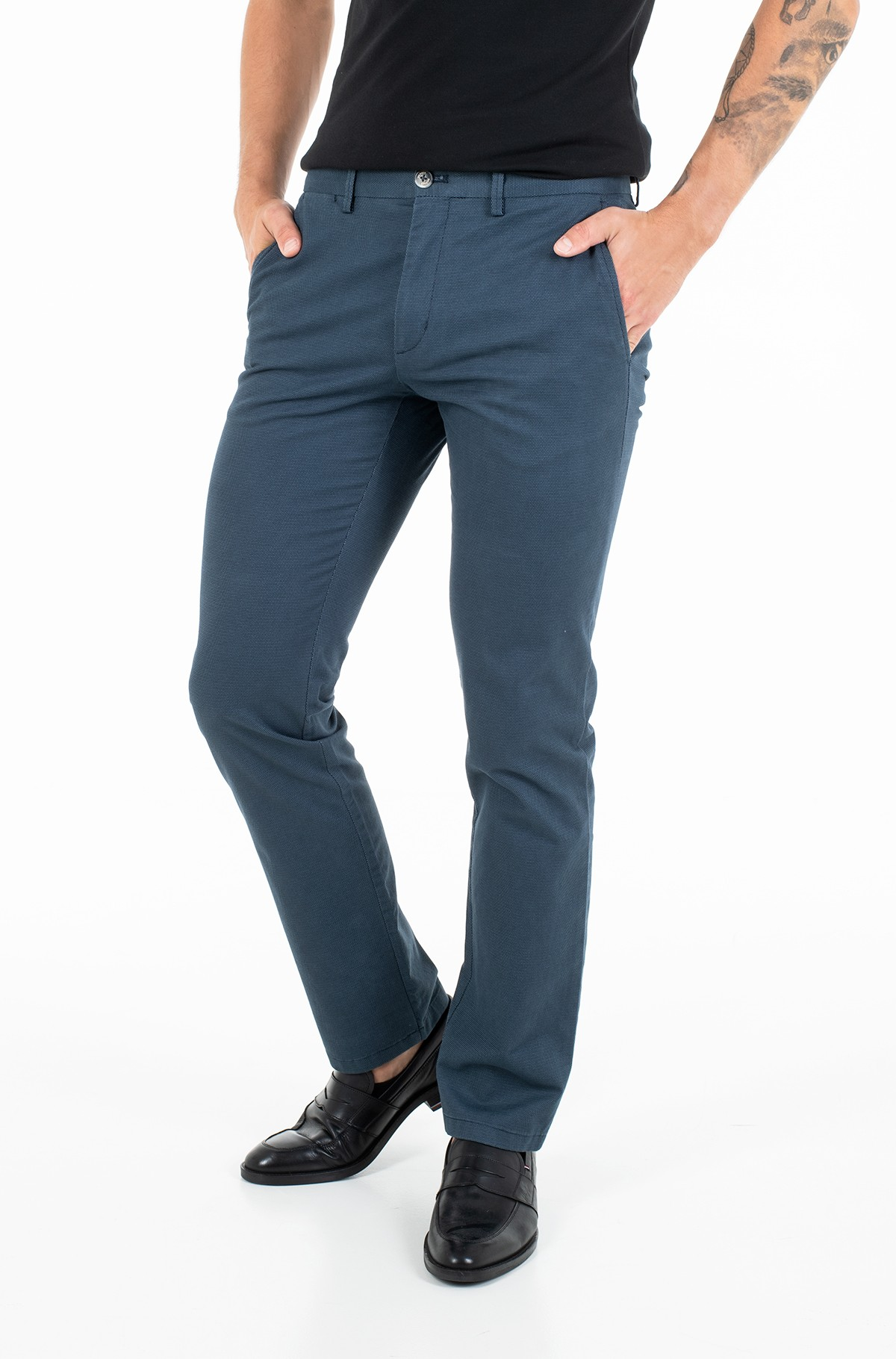 Fabric trousers DENTON MINI PRINT-full-1