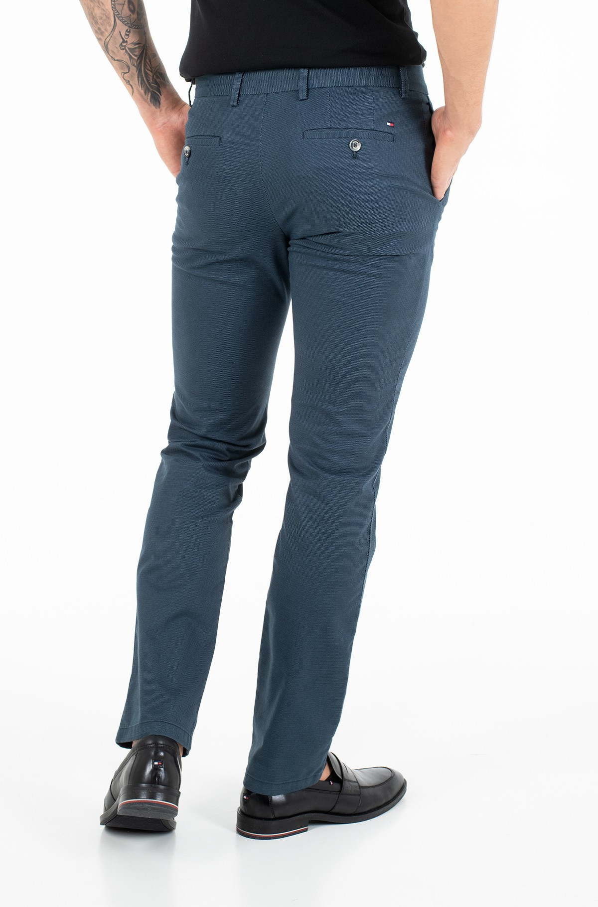 Fabric trousers DENTON MINI PRINT-full-2