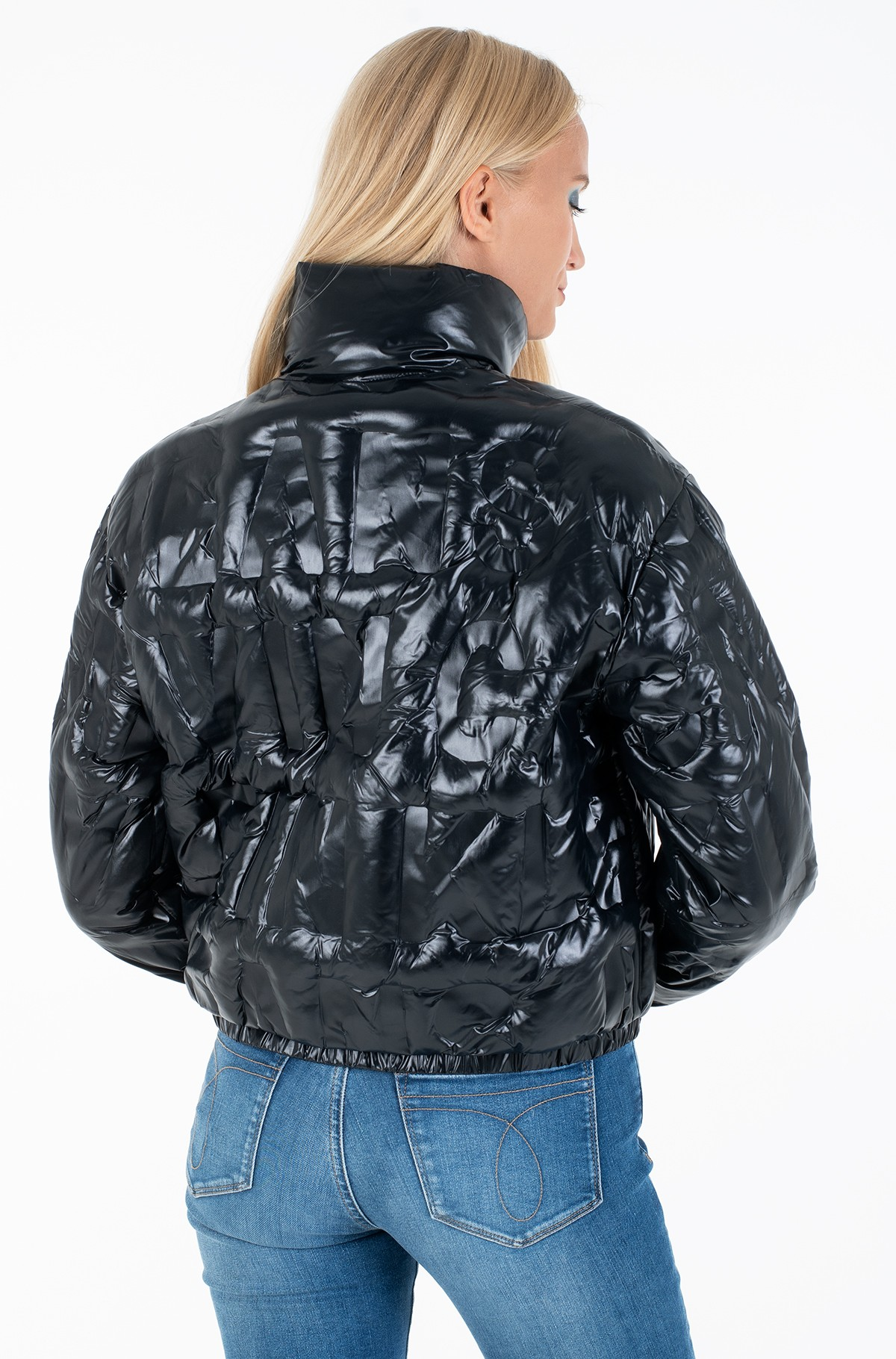 Jacket EMBOSSED LOGO PUFFER JACKET-full-2