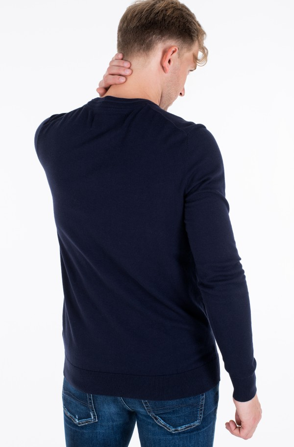 ESSENTIAL CREW NECK SWEATER-hover