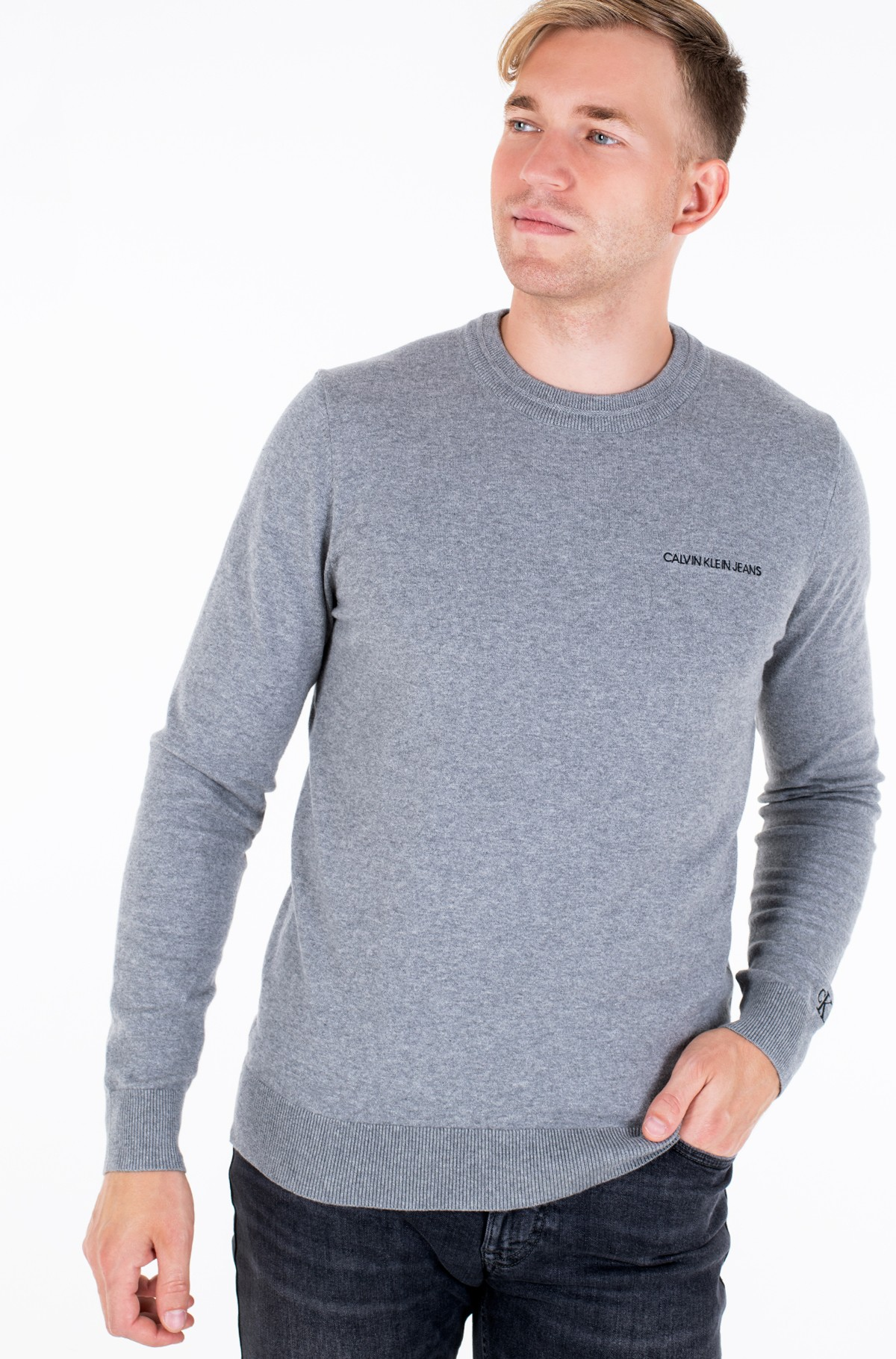 Megztinis ESSENTIAL CREW NECK SWEATER-full-1