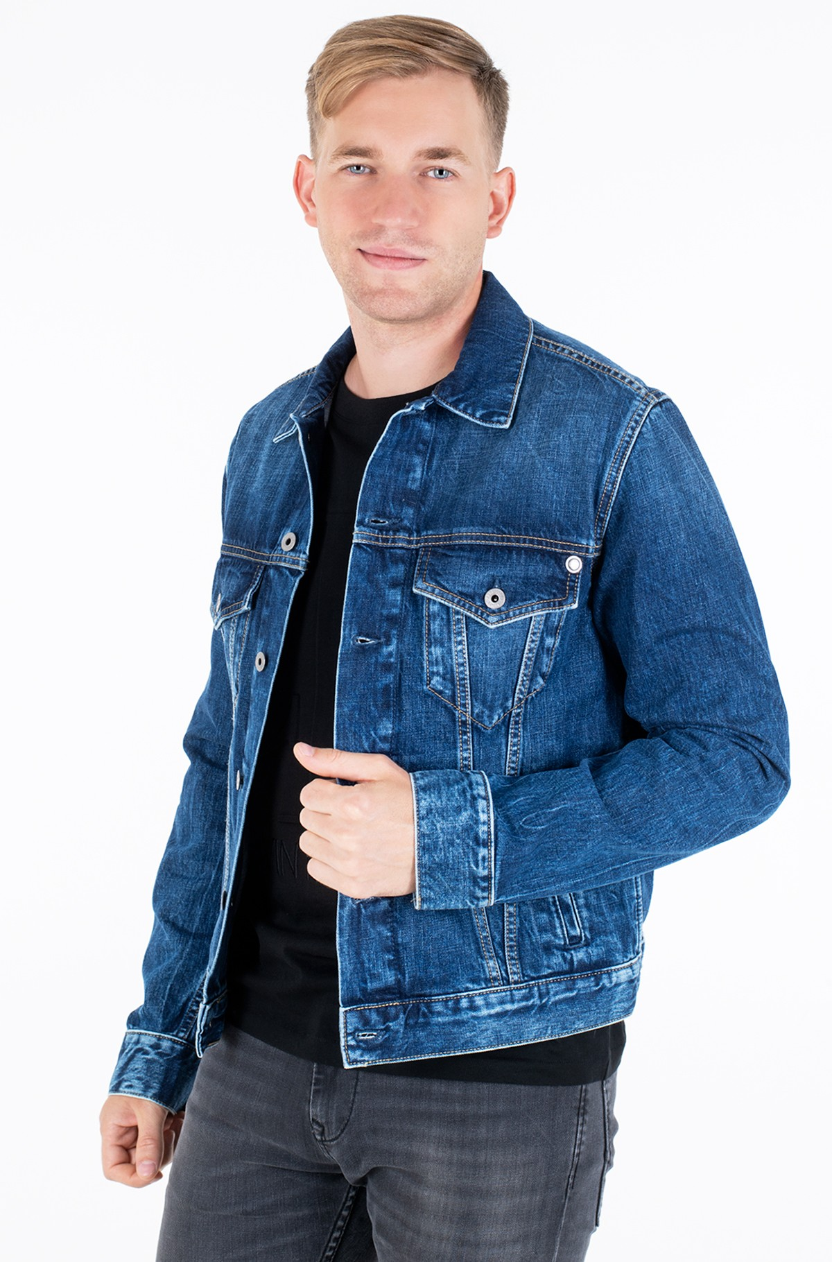 Denim jacket  PINNER/PM400908HD6-full-1