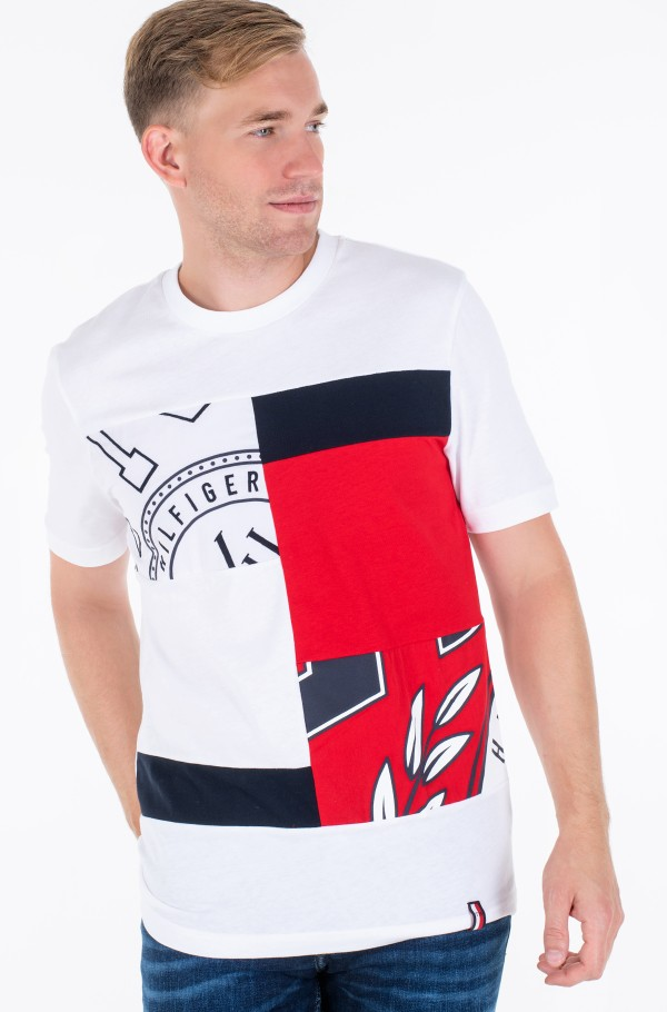 CHOPPED CREST RELAXED FIT TEE