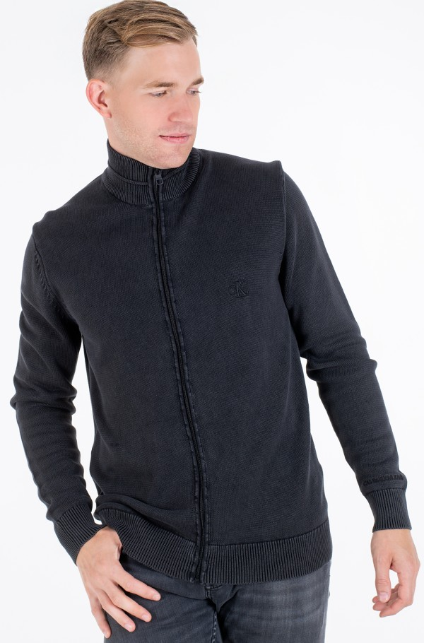 GMD ESSENTIAL ZIP UP SWEATER