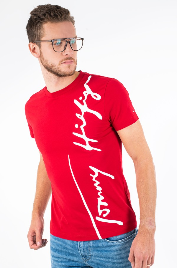TH COOL LARGE SIGNATURE TEE