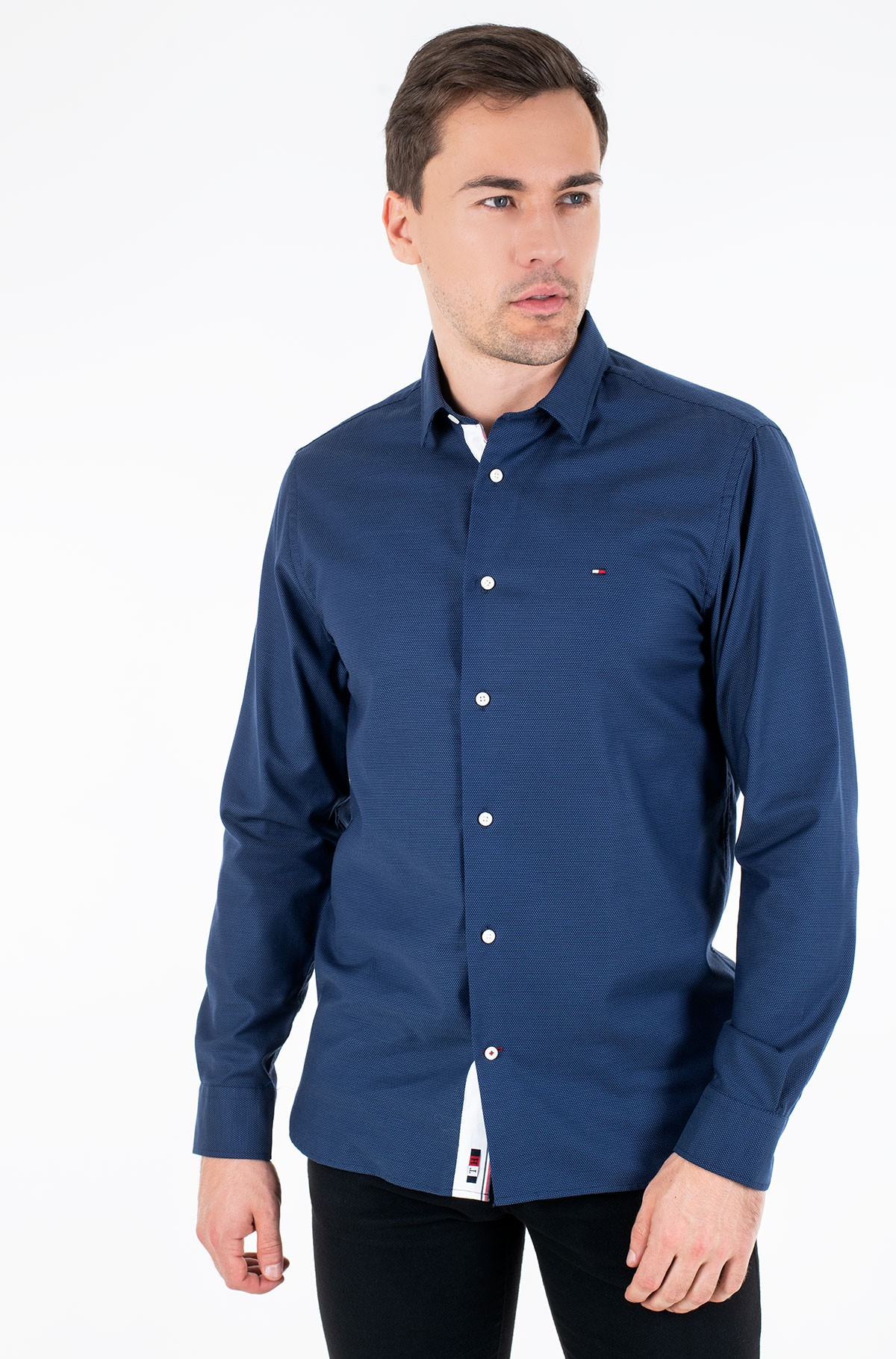 Shirt FLEX TWO TONE DOBBY SHIRT	-full-1