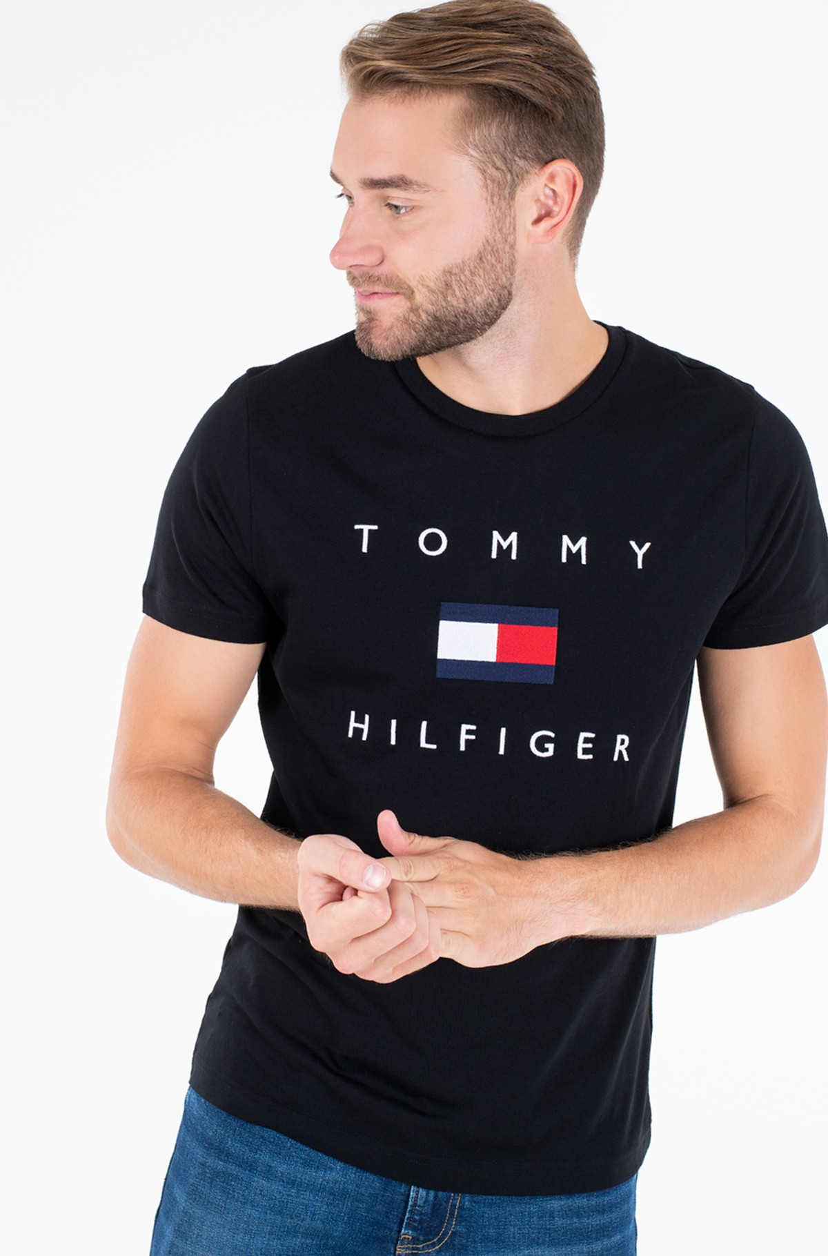 T-särk TOMMY FLAG HILFIGER TEE-full-1
