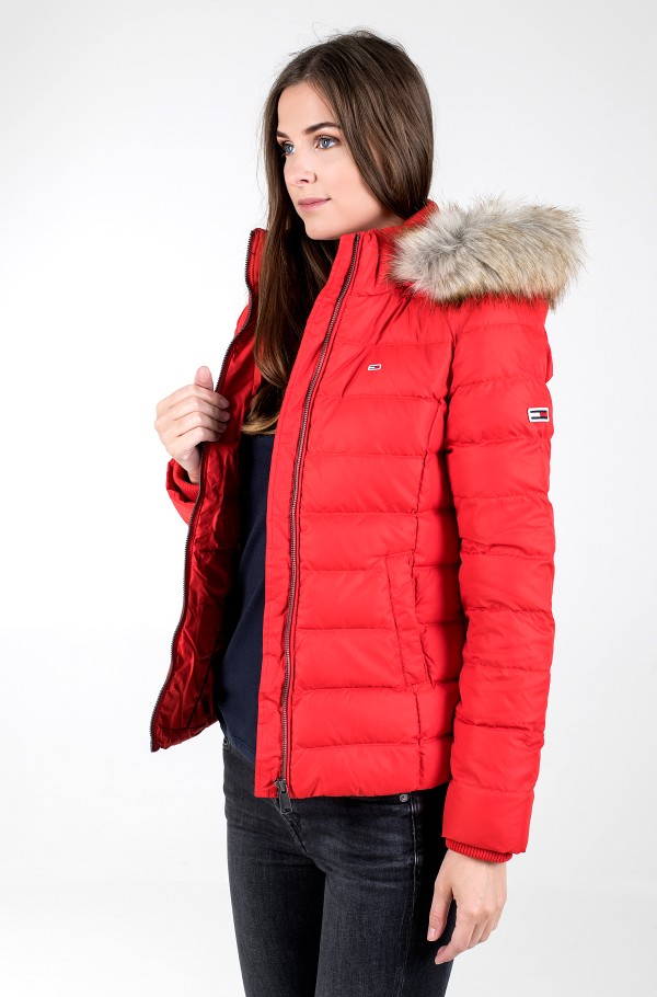 TJW BASIC HOODED DOWN JACKET