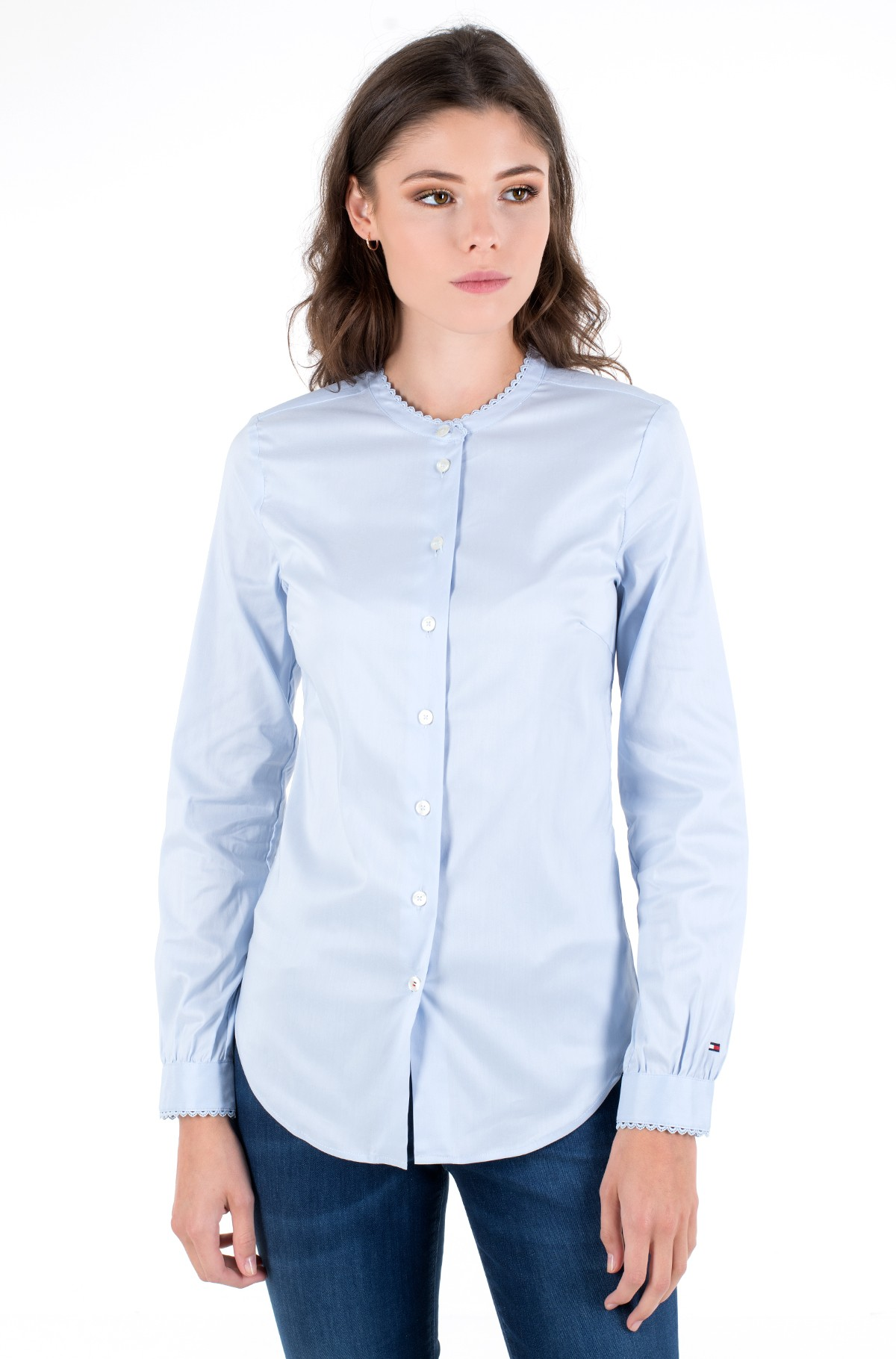 Triiksärk SALLY TRIM SHIRT LS W1	-full-1
