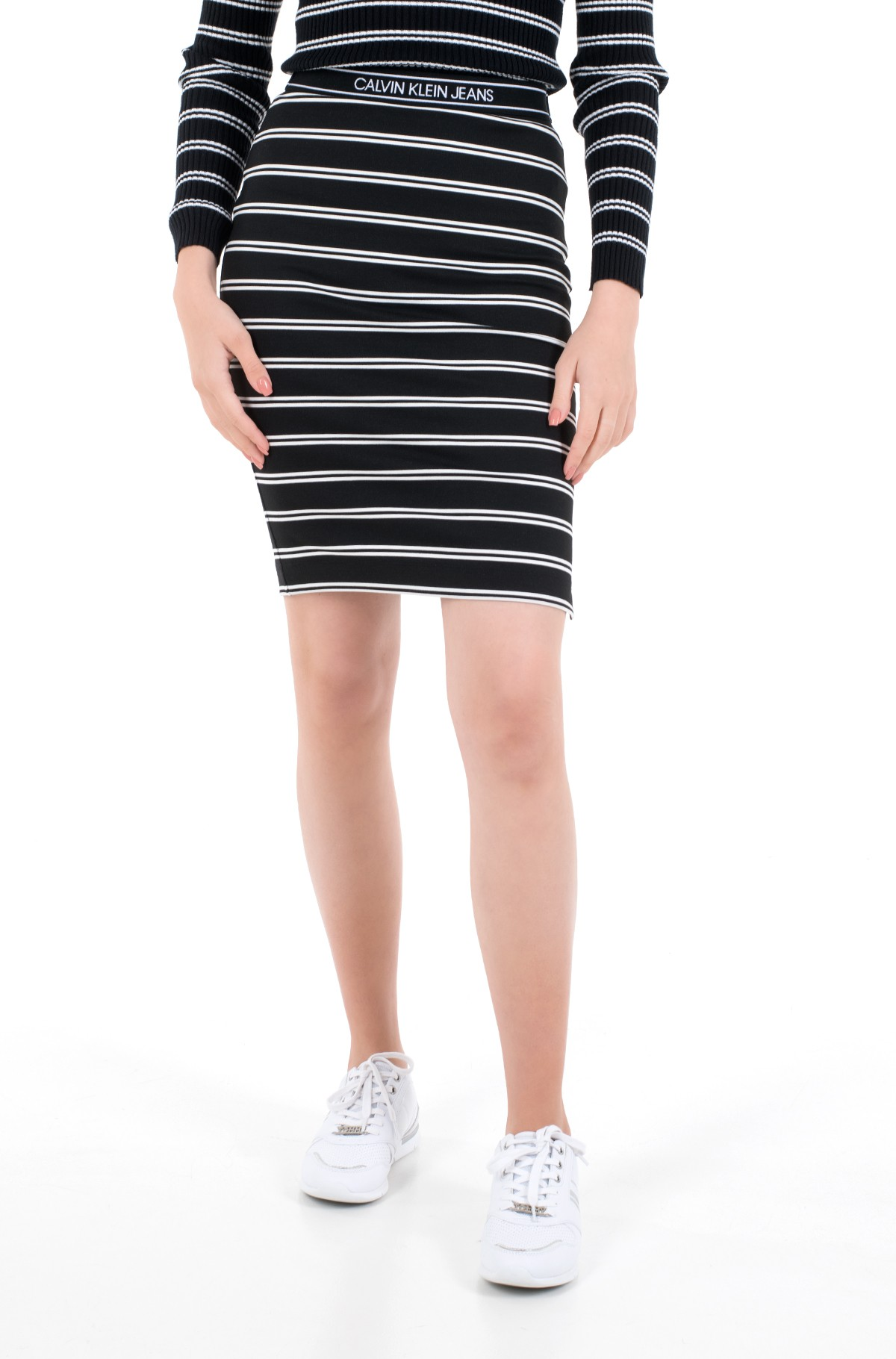 Skirt LOGO ELASTIC STRIPE MILANO SKIRT-full-2