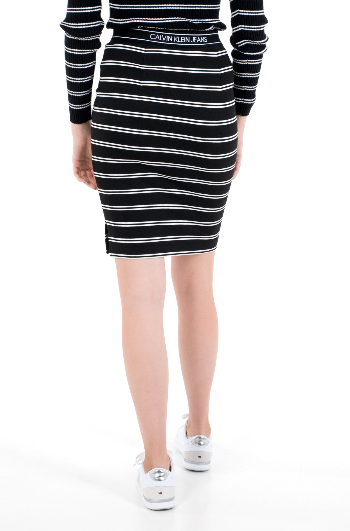 Skirt LOGO ELASTIC STRIPE MILANO SKIRT-full-3