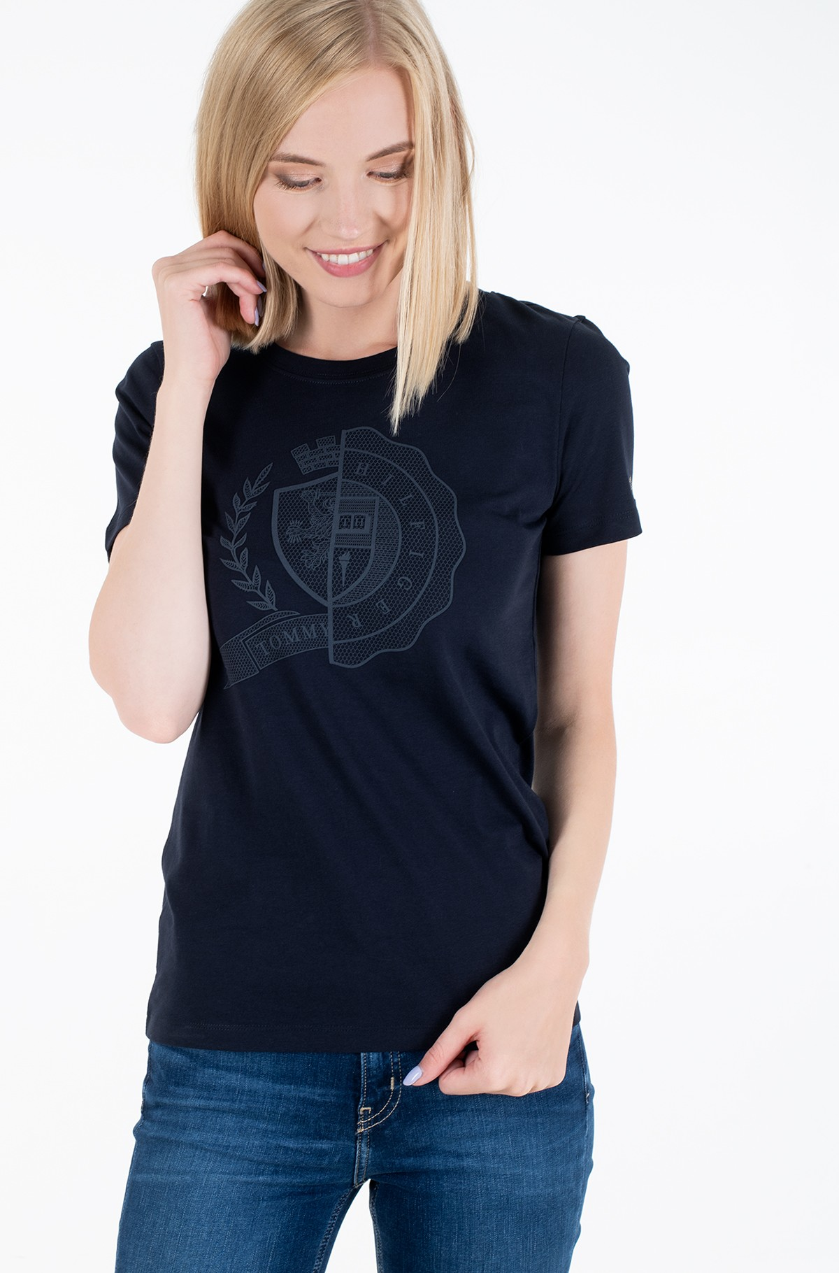 T-shirt ICON SLIM C-NK TOP SS-full-1