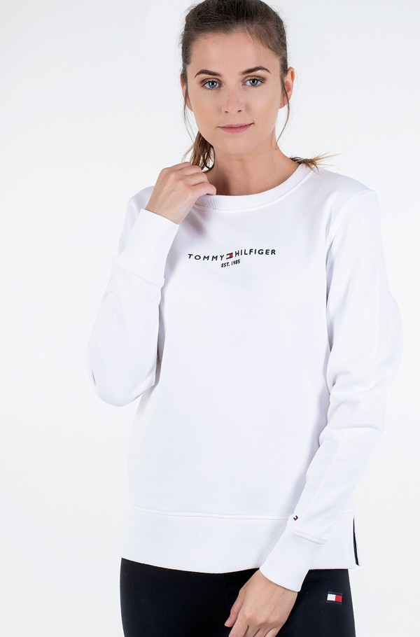 TH ESS HILFIGER C-NK SWEATSHIRT
