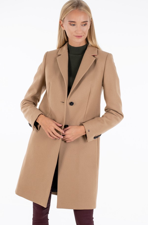 TH ESS WOOL BLEND CLASSIC COAT