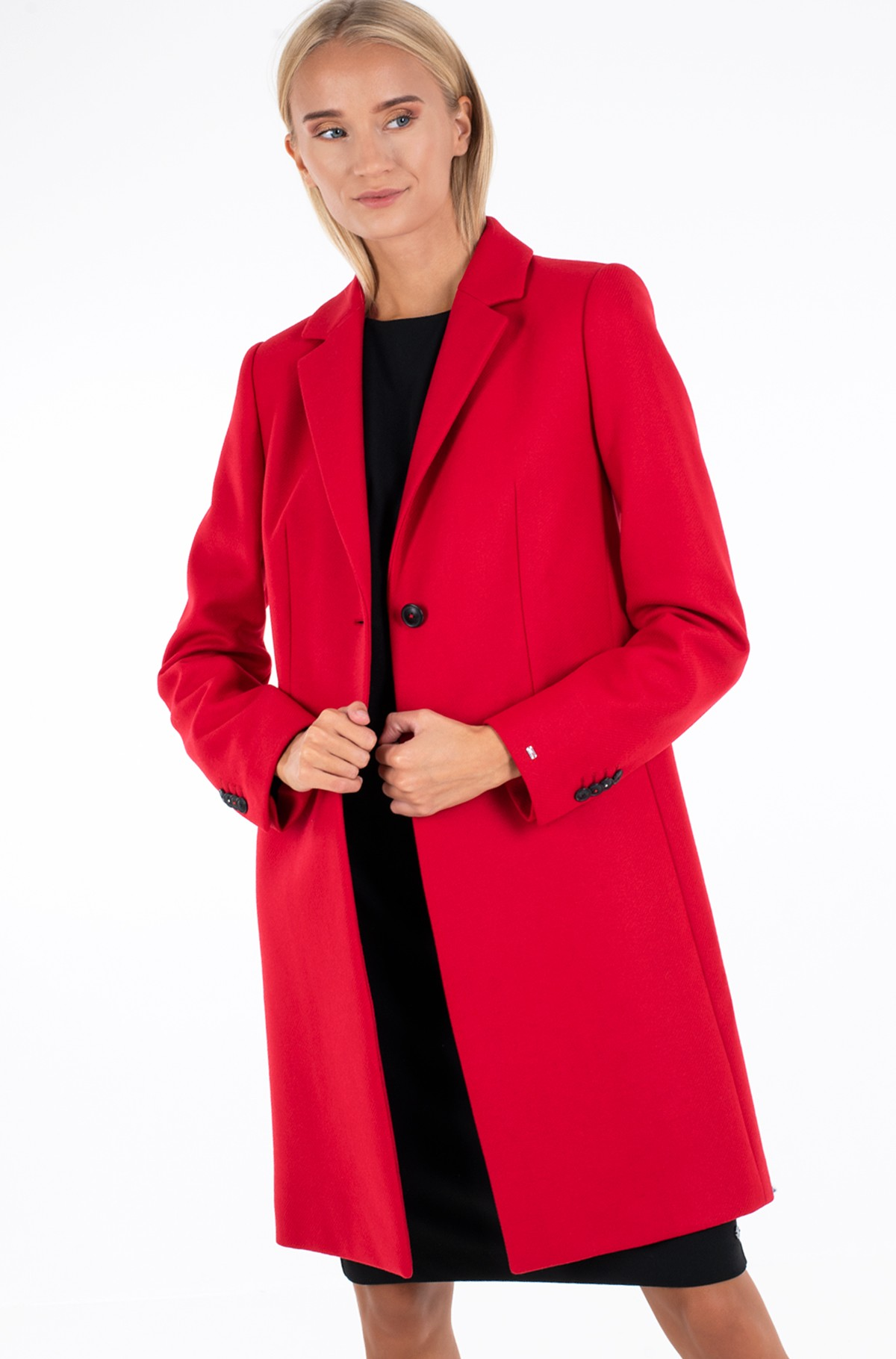 Mantel TH ESS WOOL BLEND CLASSIC COAT-full-2