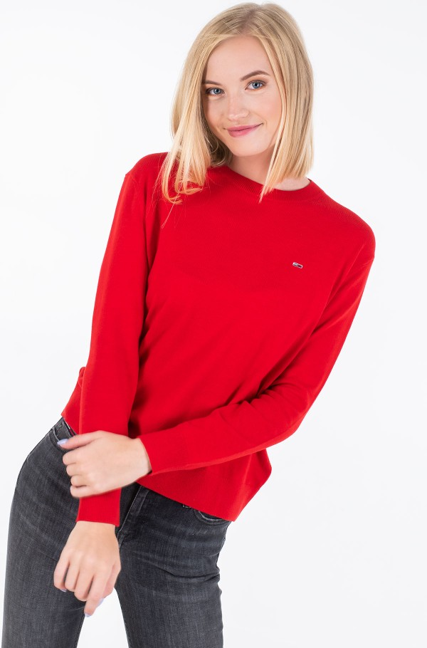 TJW SOFT TOUCH CREW SWEATER-hover