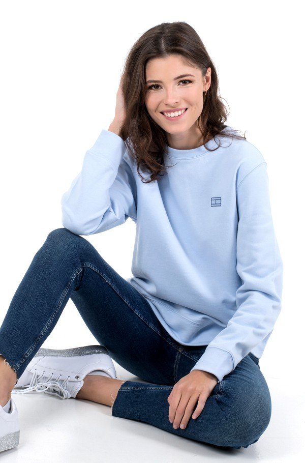 CINDY REGULAR C-NK SWEATSHIRT LS