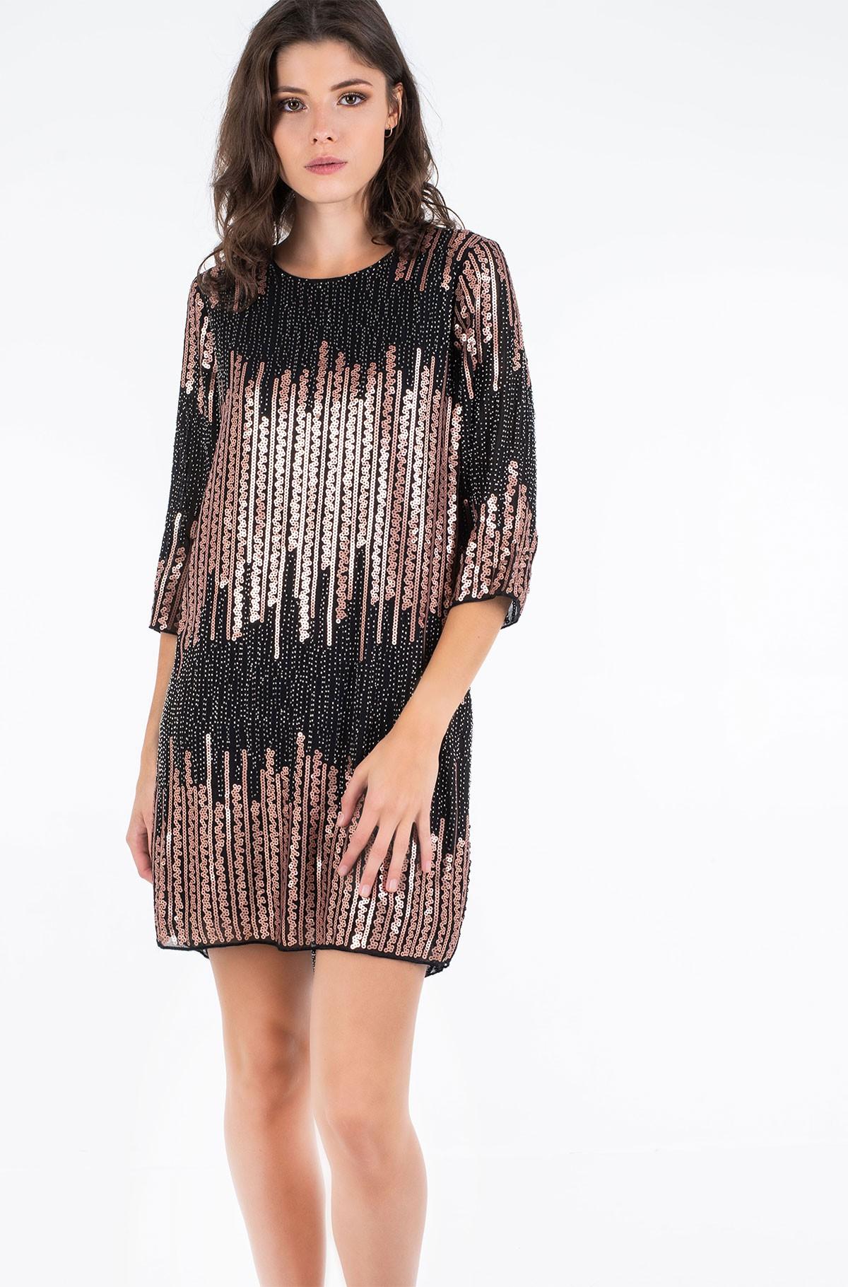 Suknelė su žvyneliais W727H20-full-1