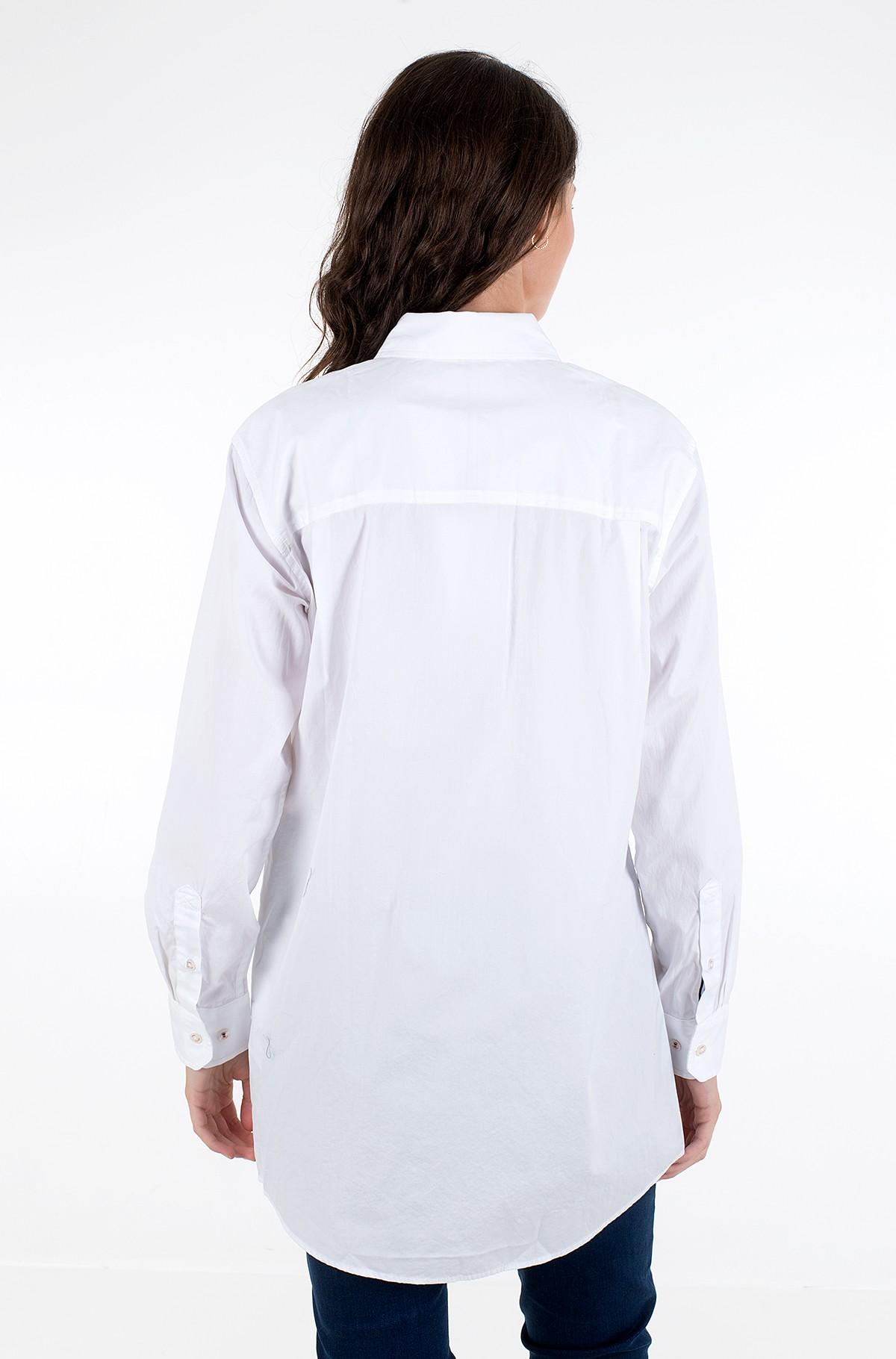 Marškiniai ICON TEDDY SHIRT LS W5-full-2