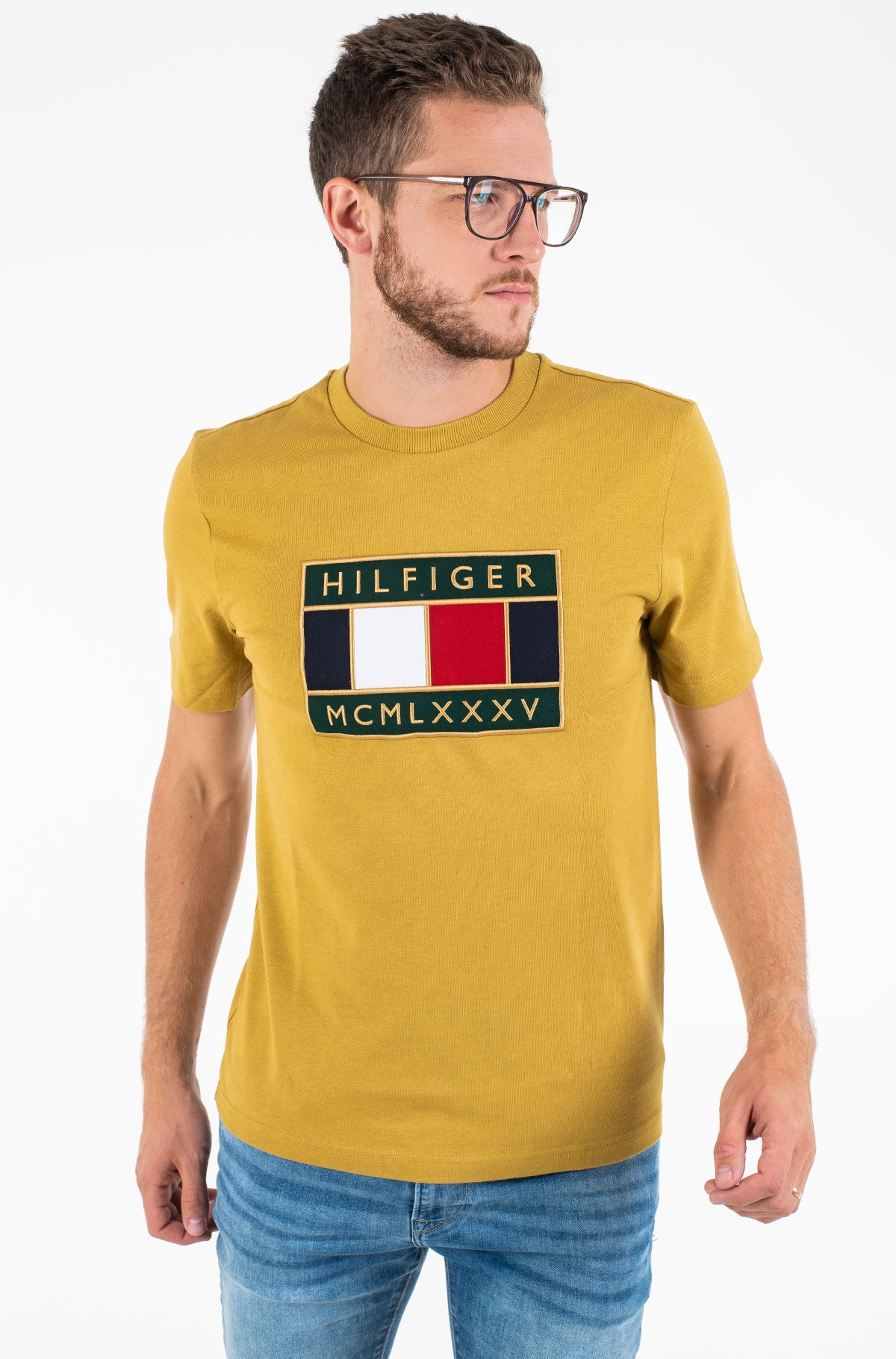 T-särk GLOBAL FLAG RELAXED FIT TEE	-full-1