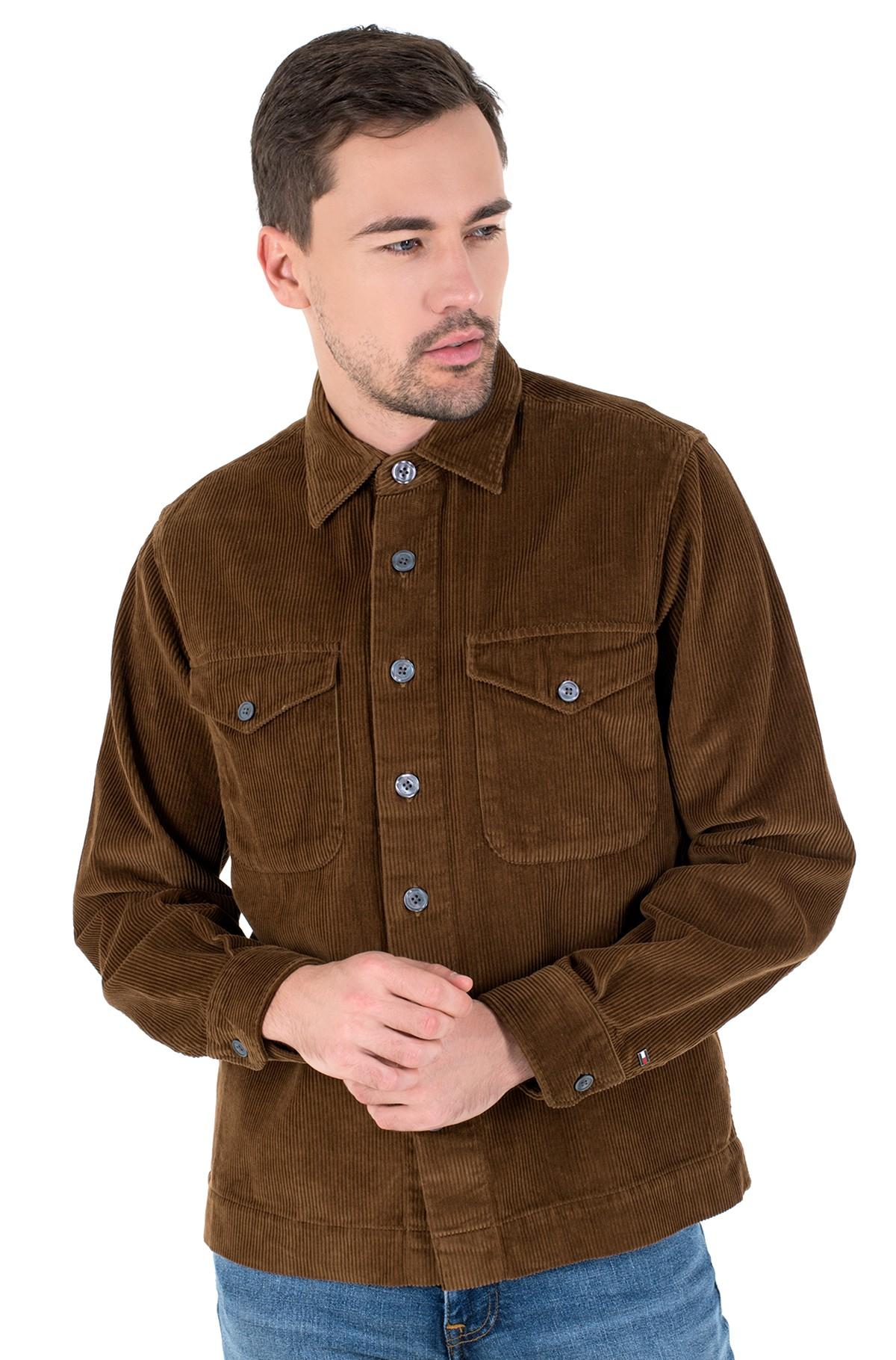Velvetiniai marškiniai CORDUROY OVERSHIRT-full-3