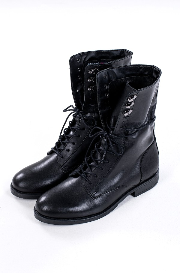 ESSENTIAL DRESSED LACE UP BOOT-hover