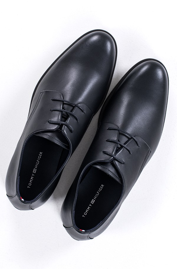 CORE LEATHER LACE UP SHOE-hover