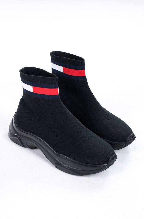 TOMMY JEANS FLAT SOCK BOOT-hover