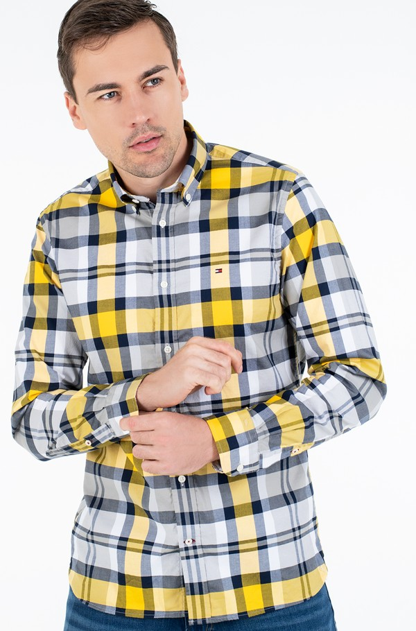 FLEX BRIGHT MIDSCALE CHECK SHIRT