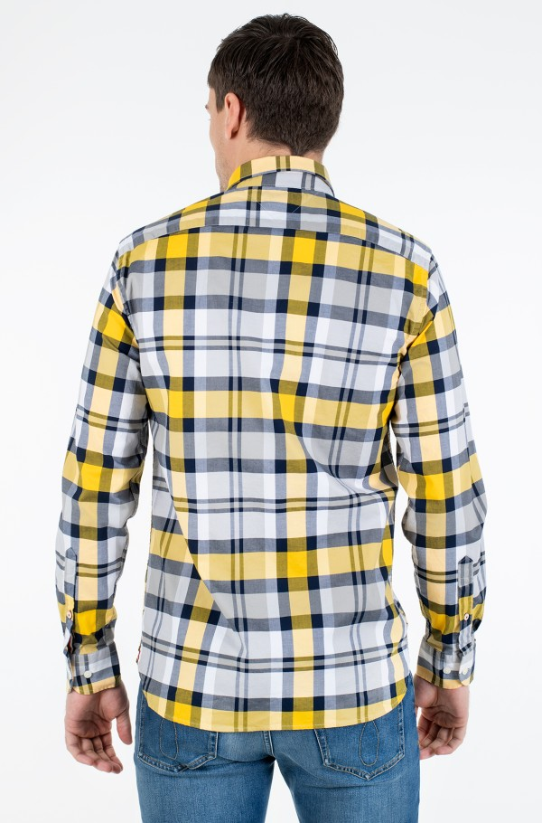 FLEX BRIGHT MIDSCALE CHECK SHIRT-hover