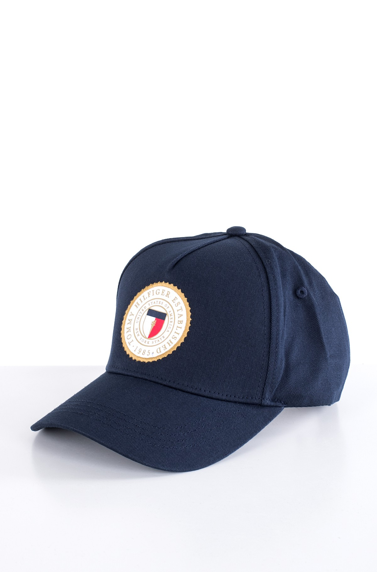 Kepurė su snapeliu  ROUND PATCH CAP-full-1