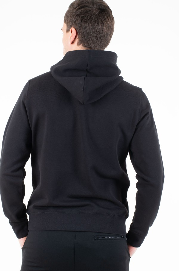 SUBTLE INSTITUTIONAL LOGO HOODIE-hover